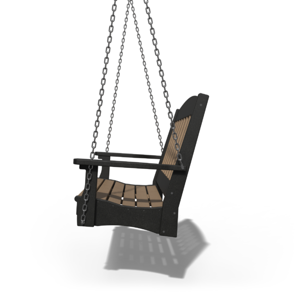 English Garden Swing 4' Side